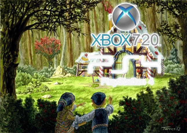 Siguiendo la pista de la  XBOX 720 / XBOX 8 y de la PS 4